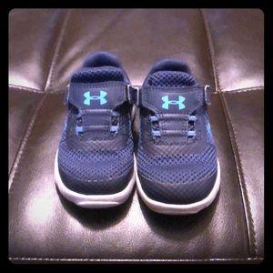 Under Armour  shoes. Infant/toddler boys size 6K.